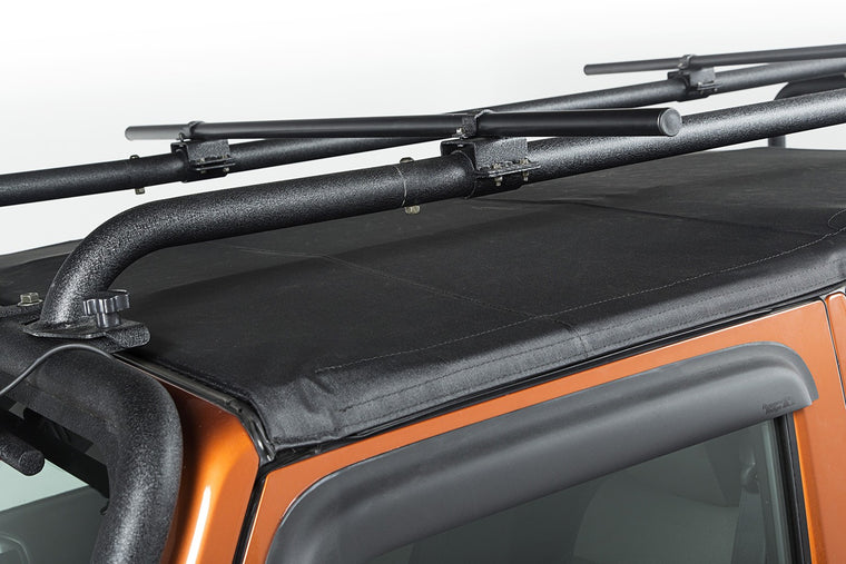 RUGGED RIDGE Sherpa Roof Rack Crossbars (Pair), Round, 56.5