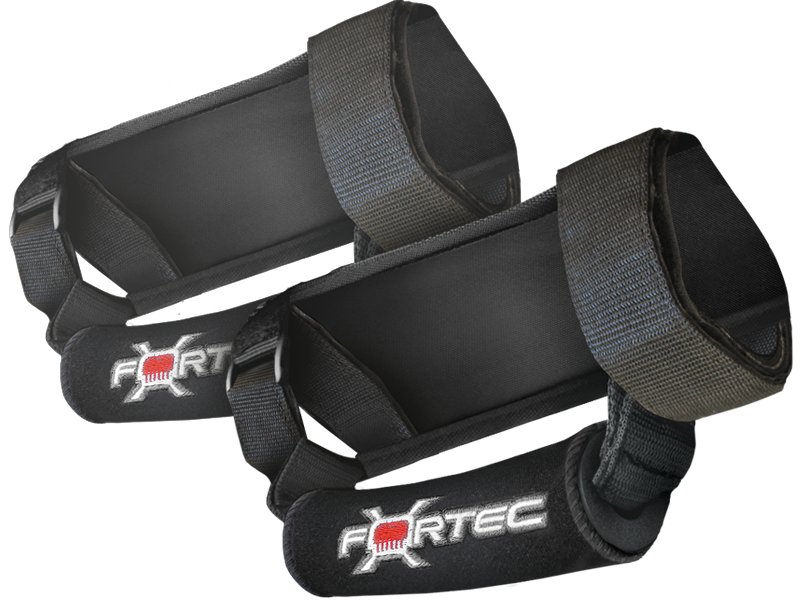 FORTEC Deluxe Foam Grab Handles with Neoprene Sleeve, Pair