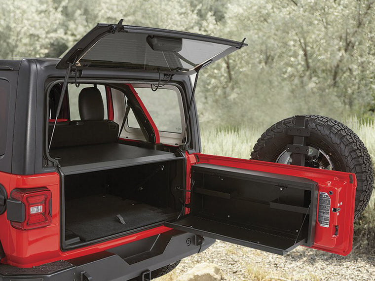 TUFFY Tailgate Lock Box for 18-up Jeep Wrangler JL & JL Unlimited
