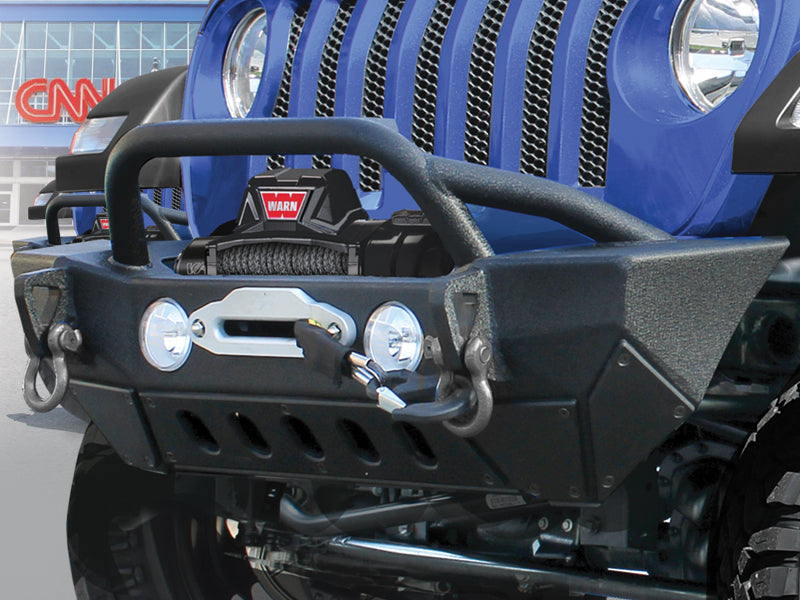 SMITTYBILT Gen2 XRC Front Bumper for 18-up Jeep Wrangler JL and JL Unlimited
