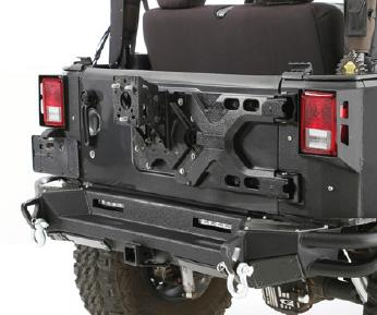 SMITTYBILT Pivot HD Tire Carrier for 18-up Jeep Wrangler JL & JL Unlimited