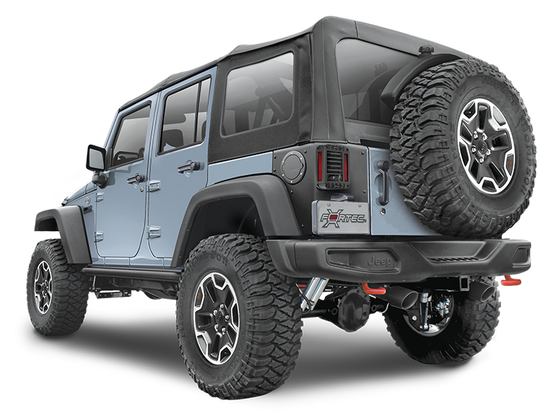 AEV Rear Corner Guards for 07-18 Jeep Wrangler JK Unlimited
