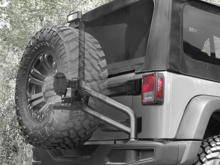 AEV Rear Tire Carrier Upgrade for COD and Moab for 12-18 Jeep Wrangler JK & JK Unlimited