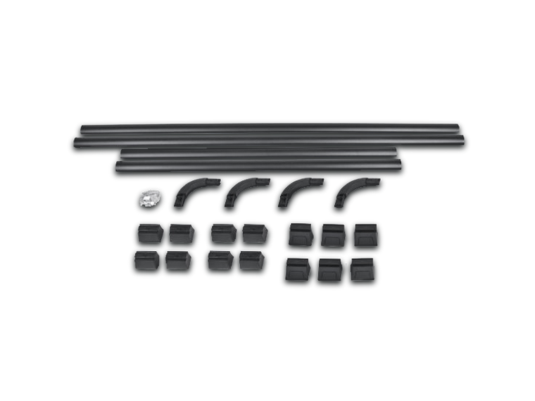 AEV Rail Kit for Roof Rack, 4-Door Only for 07-18 Jeep Wrangler JK Unlimited