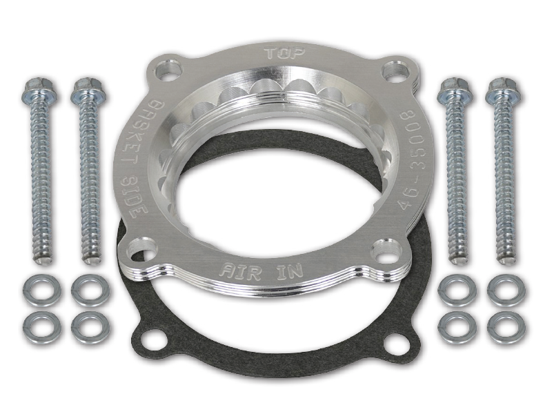 AFE POWER Silver Bullet Throttle Body Spacer for 18-up Jeep Wrangler JL & JL Unlimited