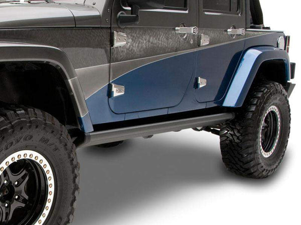 Amp Research Powerstep For 07 18 Jeep Wrangler Jk Amp Jk