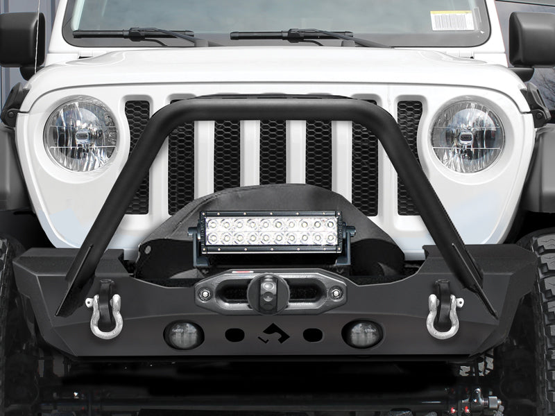 ARTEC Nighthawk Front Bumpers w/ Stinger for 18-up Jeep Wrangler JL & JL Unlimited
