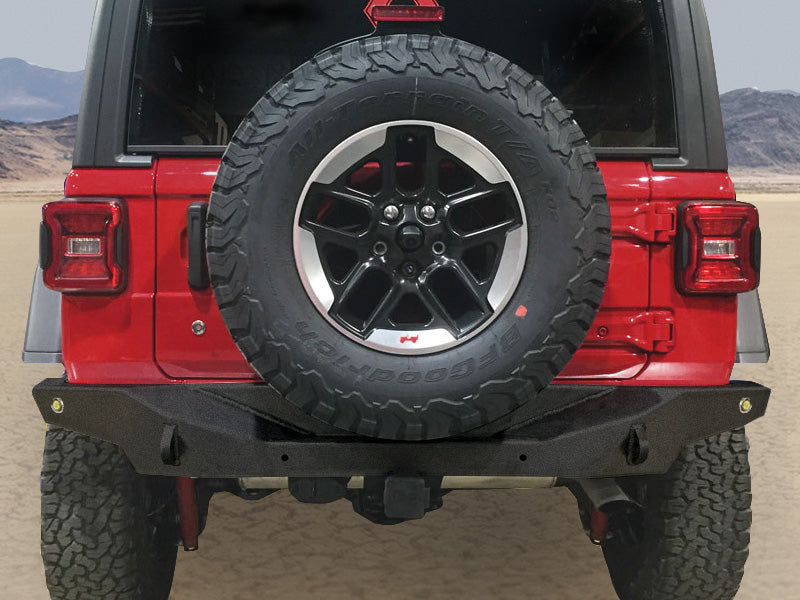 ARTEC Nighthawk Rear Bumpers for 18-up Jeep Wrangler JL & JL Unlimited
