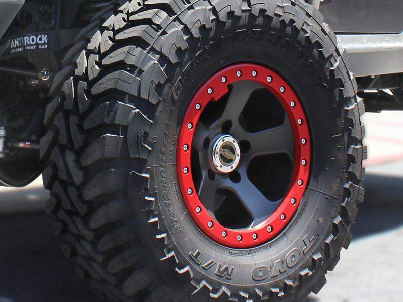 "BAWARRION Hub Centric ""Bon'Z"" Beadlock Wheel for 07-18 Jeep Wrangler JK & 18-up Jeep Wrangler JL"