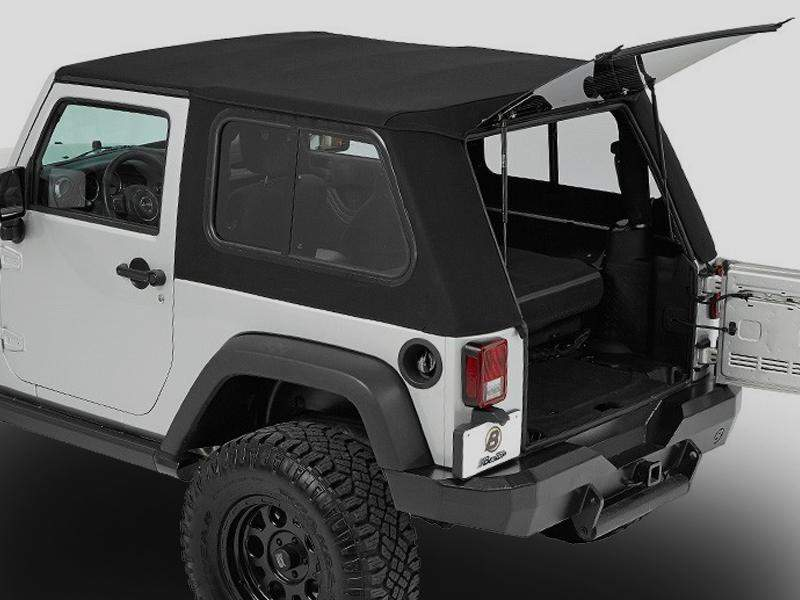 Bestop Trektop™ Pro Soft Top for 07-18 Jeep Wrangler JK & JK Unlimited