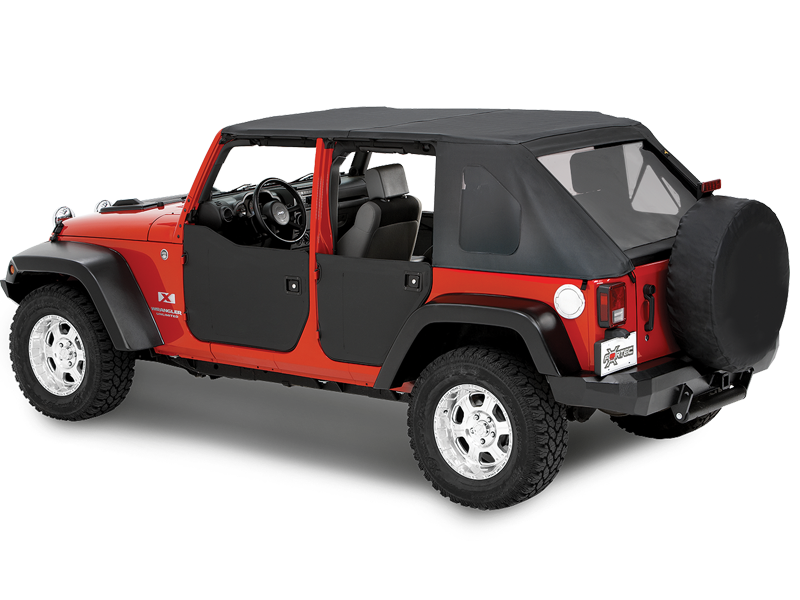 BESTOP Half Doors for 07-18 Jeep Wrangler JK & JK Unlimited