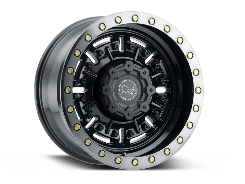 "BLACK RHINO ""ABRAMS"" Wheel for 07-up Jeep Wrangler JK, JL & Gladiator JT"
