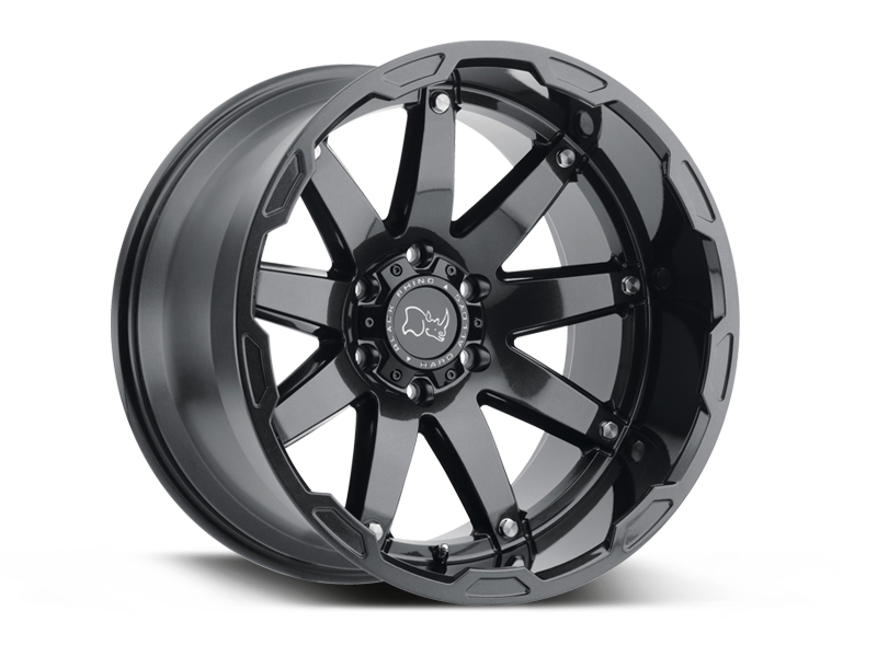"BLACK RHINO ""OCEANO"" Wheel for 07-up Jeep Wrangler JK, JL & Gladiator JT"