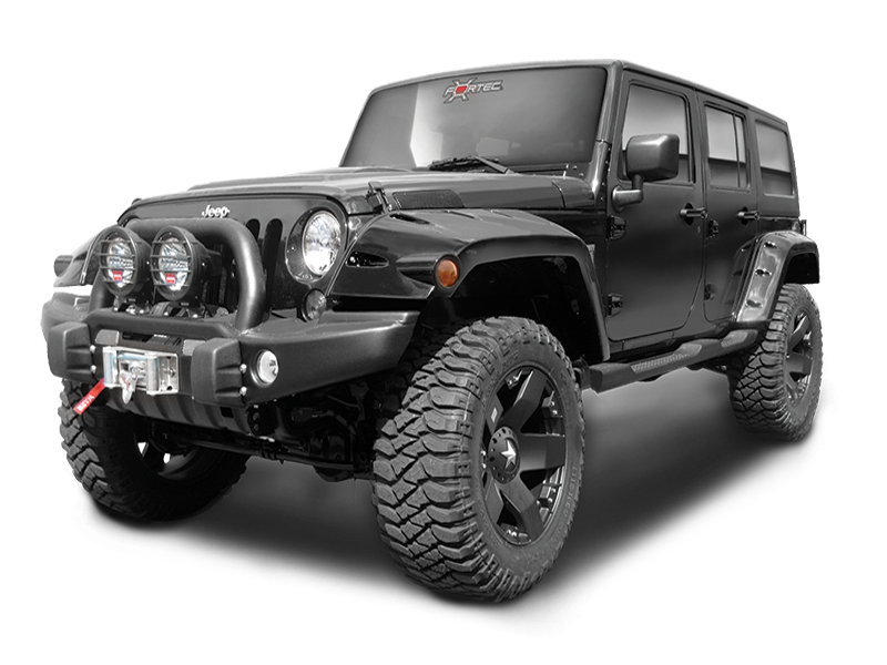 "BUSHWACKER Pocket Style ""EXTENDED Coverage"" Fender Flares ...