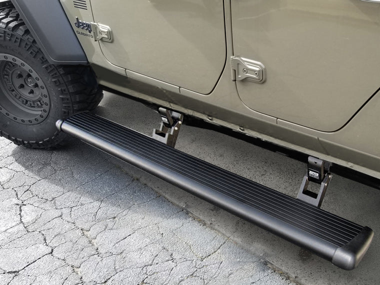 AMP Electric Running Board, Pair, for 20-up Jeep Gladiator JT
