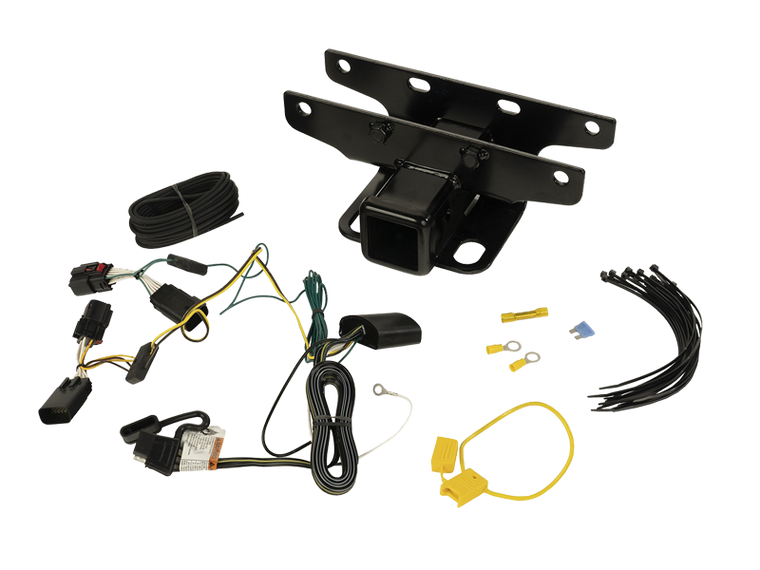 RUGGED RIDGE Trailer Hitch Kit Wiring Harness for 18-up Jeep Wrangler JL & JL Unlimited