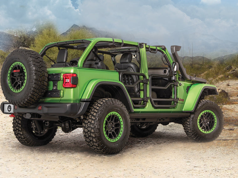 MOPAR Tube Door Kits for 18-up Jeep Wrangler JL & JL Unlimited