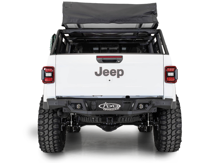 ADD Offroad ADD-Lander Overland Rack for 20-up Jeep Gladiator JT