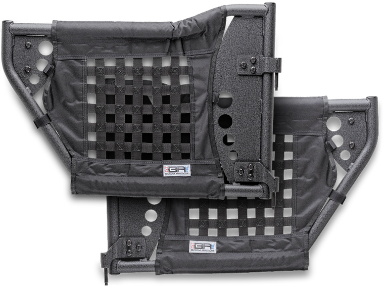 BODY ARMOR Gen III Tube Doors for 07-18 Jeep Wrangler JK & JK Unlimited