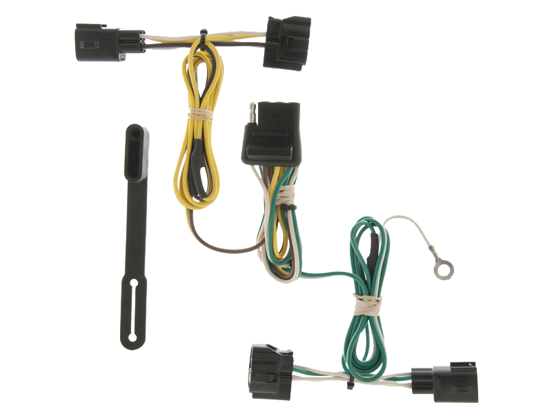 CURT Manufacturing Wiring Harnesses for 87-95 Jeep Wrangler