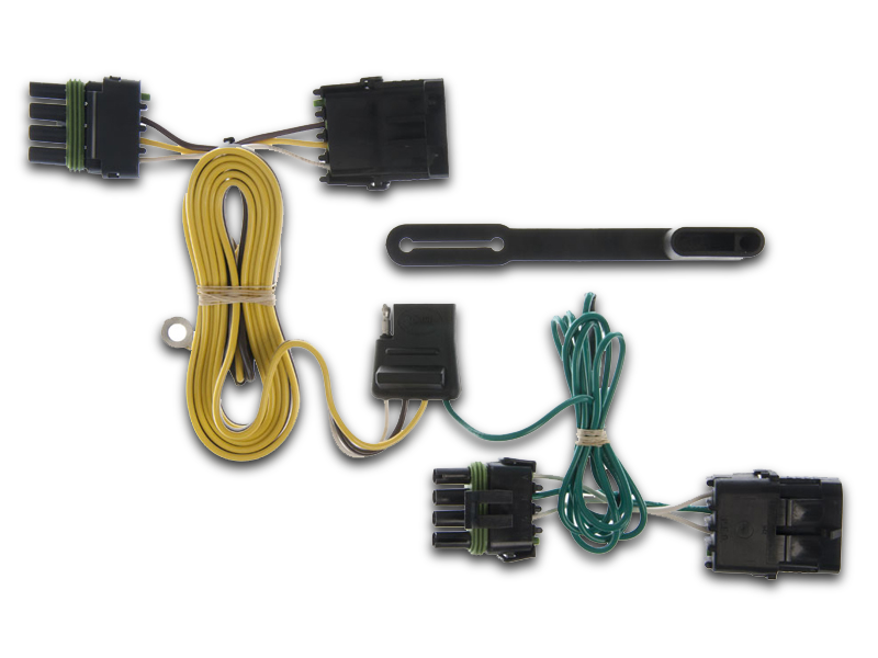 CURT Manufacturing Wiring Harnesses for 97-06 Jeep Wrangler on
