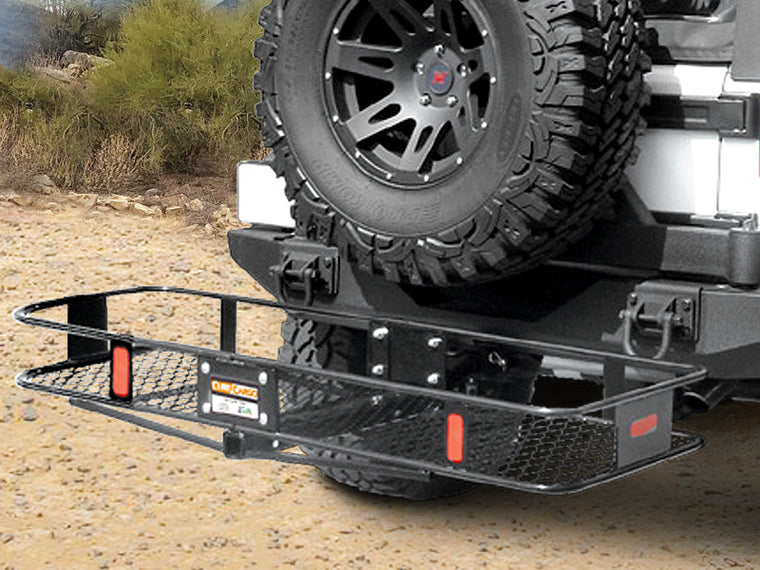 "CURT Cargo Basket fits all 2"" Hitches"