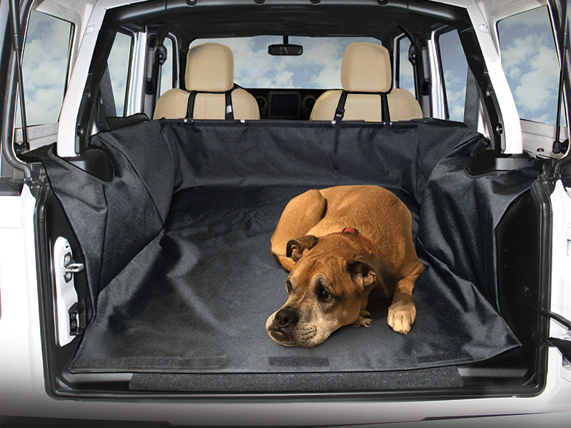 DIRTYDOG4x4 Cargo Liner 4-Door Only for 18-up Jeep Wrangler JL Unlimited