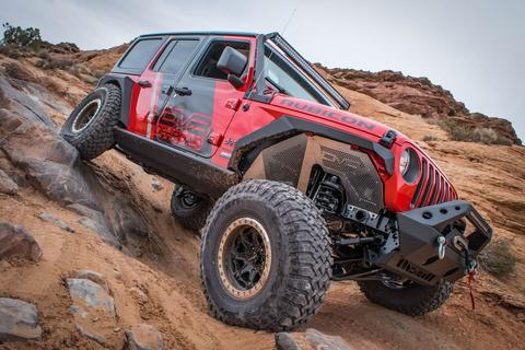 DV8 Inner Fenders for 18-up Jeep Wrangler JL & JL Unlimited