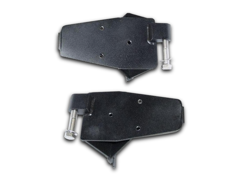 DIE-TECH Off-Road Mirror Brackets 97-06 Jeep Wrangler TJ