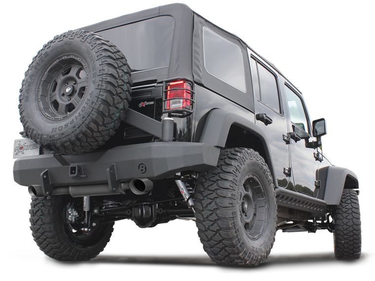 MagnaFlow Street Series Axle-Back Performance Exhaust System for 07-18 Jeep Wrangler JK & JK Unlimited
