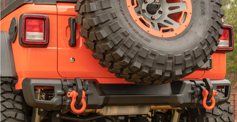 RUGGED RIDGE Arcus Rear Bumper for 18-up Jeep Wrangler JL & JL Unlimited