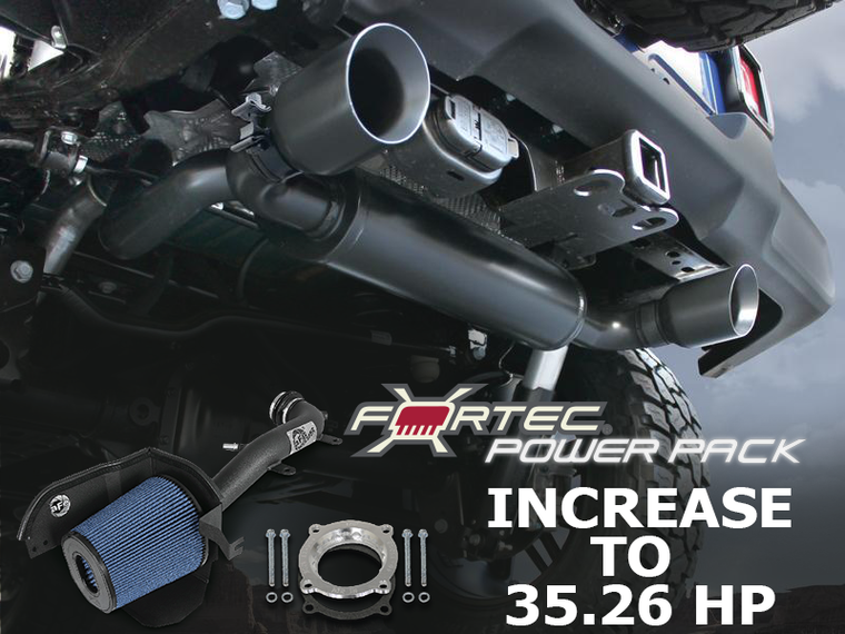 FORTEC4x4 Power Pack for 18-up Jeep Wrangler JL & JL Unlimited