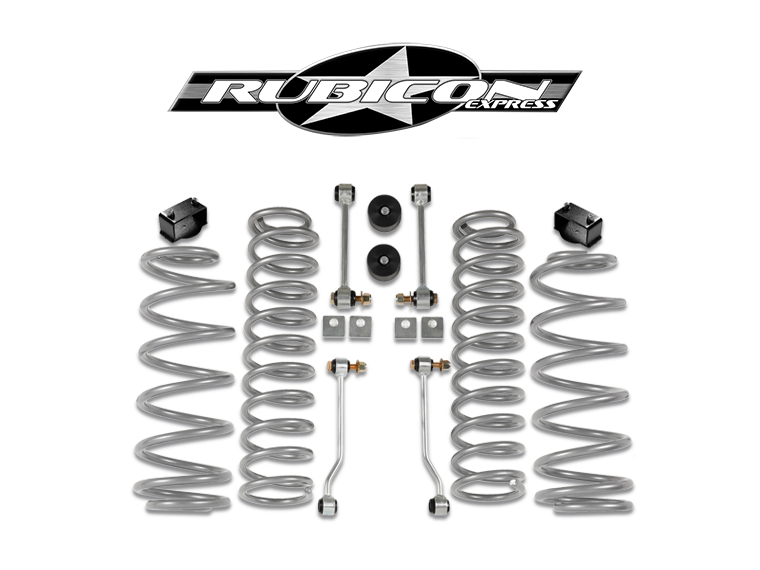 "RUBICON EXPRESS Super-Ride 2.5"" Suspension Kit, 4-Door Only for 18-up Jeep Wrangler JL"