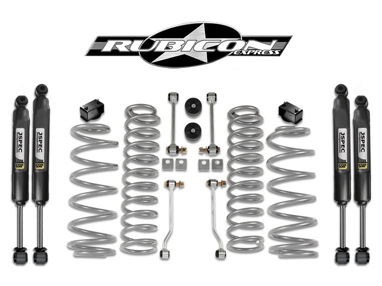 "FORTEC 2.5"" Suspension Kit by Rubicon Express with JKS"