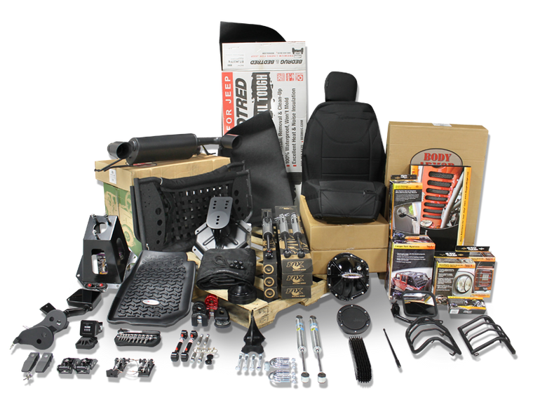 FORTEC4x4 - Special Order Shop Package