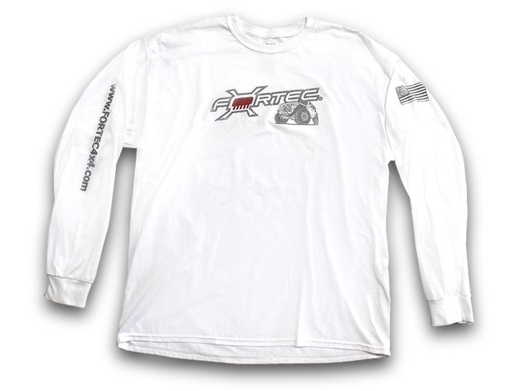 FORTEC White Long Sleeve Shirt