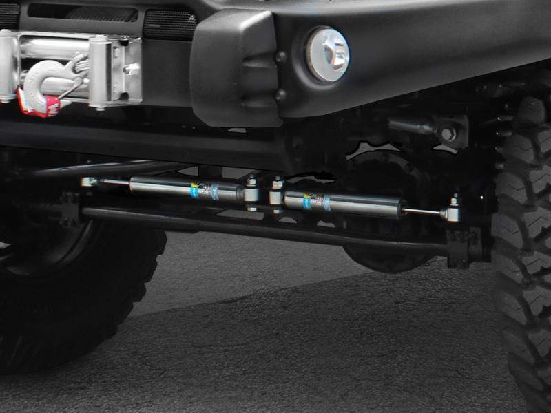 FORTEC Bilstein Dual Stabilizer Kit for 07-18 Jeep Wrangler JK & JK Unlimited