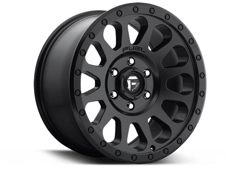 "FUEL D579 ""VECTOR"" Wheel in Satin Black for 07-up Jeep Wrangler JK, JL & JT Gladiator"