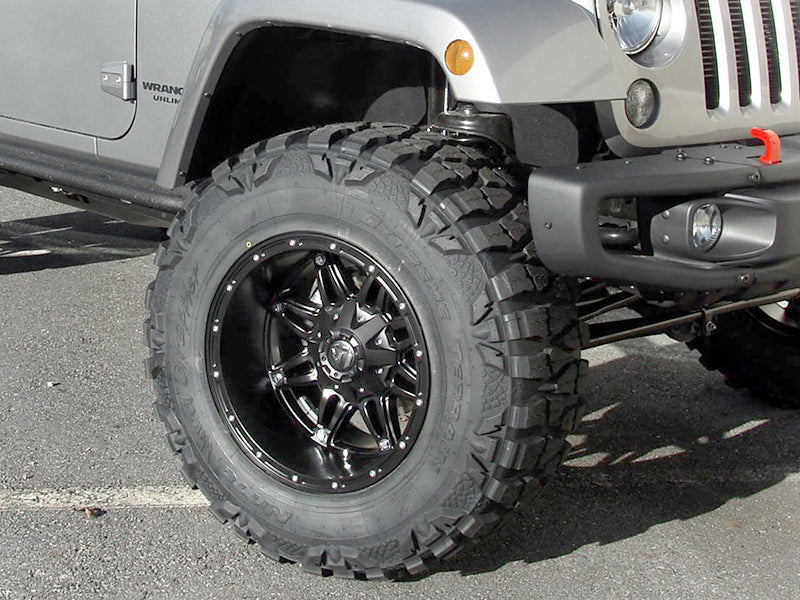 "FUEL D531 ""Hostage"" Wheel in Satin Black for 07-18 Jeep Wrangler JK & JK Unlimited"