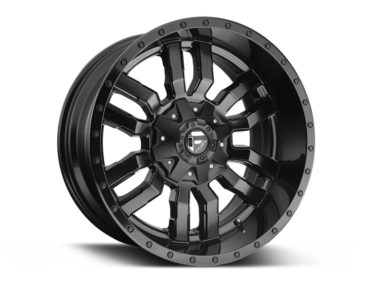 "FUEL D596 ""SLEDGE"" Wheel for 07-up Jeep Wrangler JK, JL & JT Gladiator"