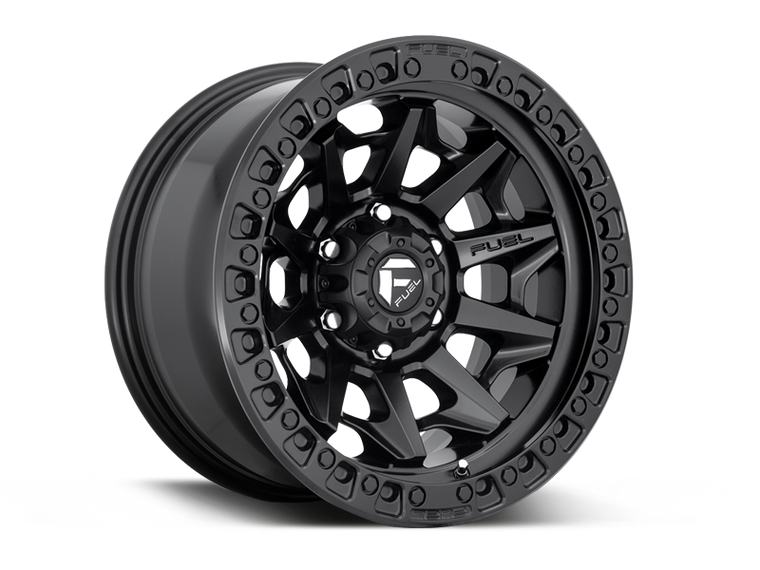 "FUEL D694 ""COVERT"" Wheel for 07-up Jeep Wrangler JK, JL & Gladiator JT"