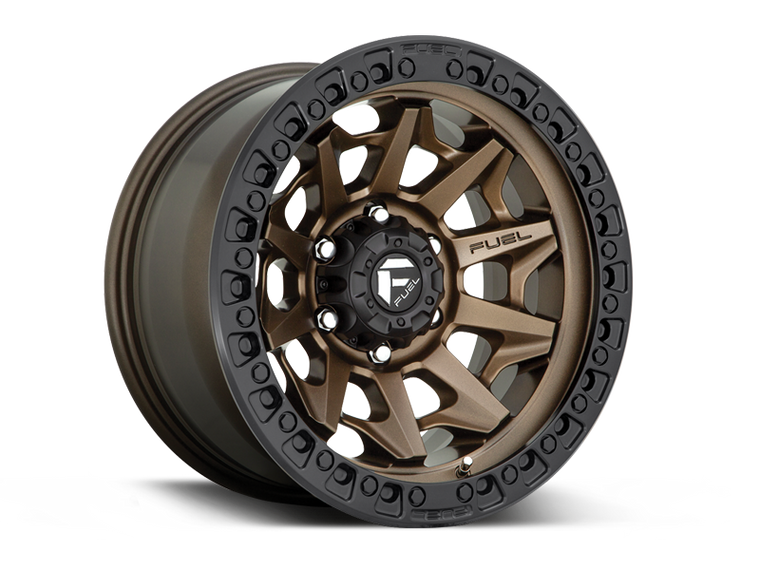 "FUEL D696 ""COVERT"" Wheel for 07-up Jeep Wrangler JK, JL & Gladiator JT"