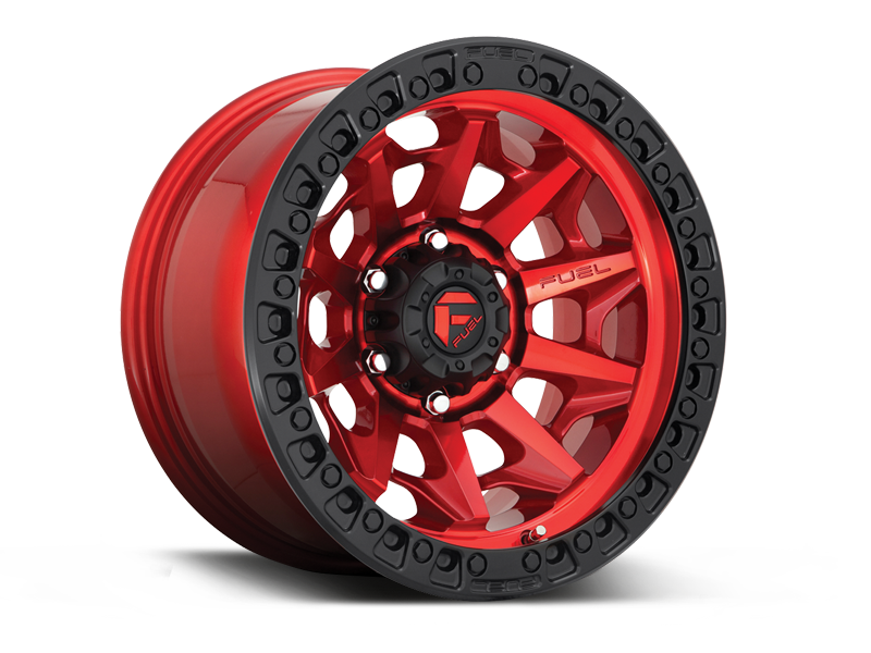 "FUEL D695 ""COVERT"" Wheel for 07-up Jeep Wrangler JK, JL & Gladiator JT"