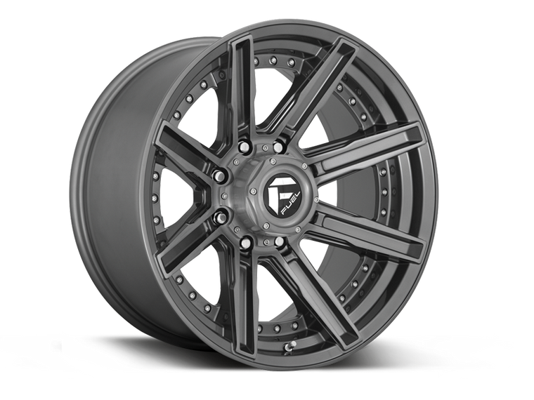"FUEL D710""ROGUE"" Wheel for 07-up Jeep Wrangler JK, JL & Gladiator JT"