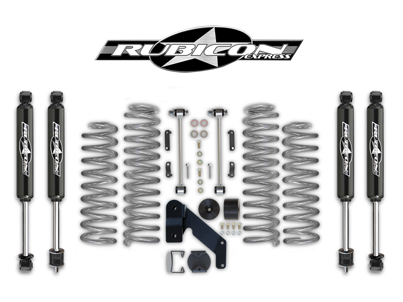 """FORTEC 2.5"""" Suspension Kit by Rubicon Express for 07-18"""