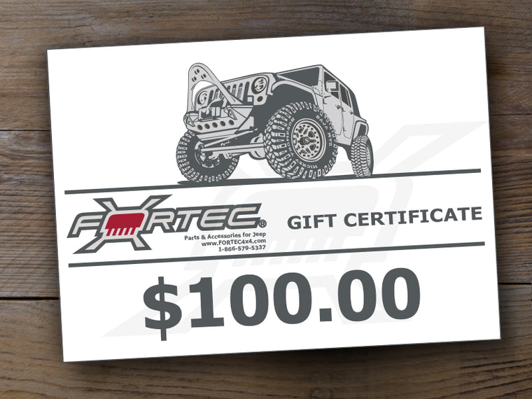 FORTEC4x4 Gift Card