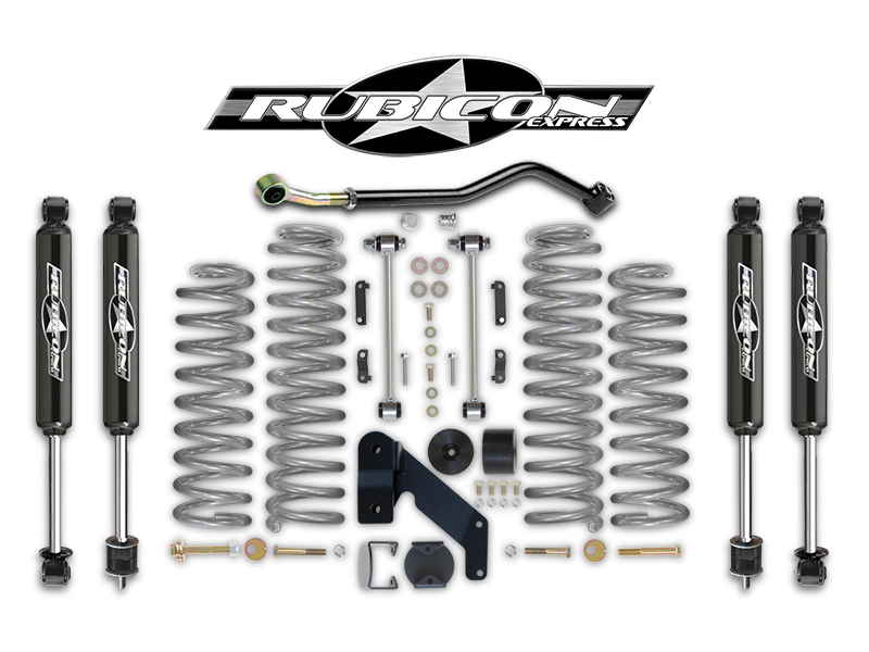 fortec 3 5 u201d suspension kit by rubicon express with jks