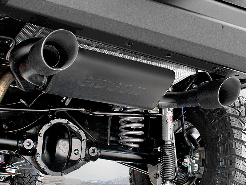 Black Dual Exhaust - Black Friday Special