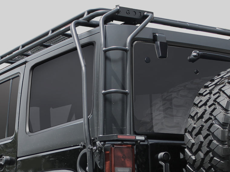 GOBI Ladder for 07-18 / 18-up Jeep Wrangler JK/ JL & JK/ JL Unlimited