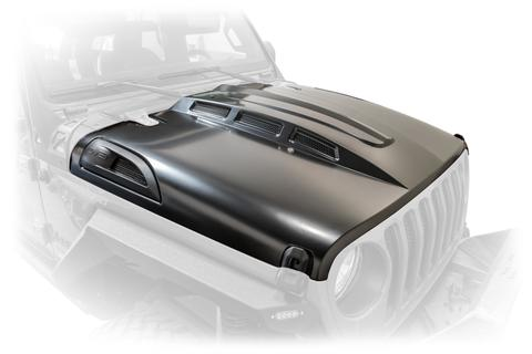 DV8 Heat Hood for 18-up Jeep Wrangler JL & JL Unlimited